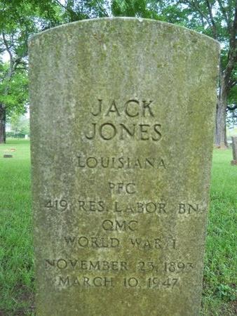 JONES, JACK (VETERAN WWI) - Caddo County, Louisiana | JACK (VETERAN WWI) JONES - Louisiana Gravestone Photos