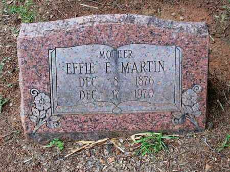 ATKINS MARTIN, EFFIE ELIZA - Caddo County, Louisiana | EFFIE ELIZA ATKINS MARTIN - Louisiana Gravestone Photos