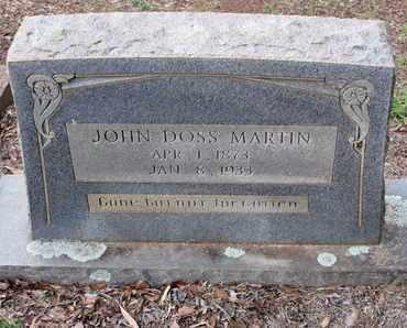 MARTIN, JOHN DOSS - Caddo County, Louisiana | JOHN DOSS MARTIN - Louisiana Gravestone Photos