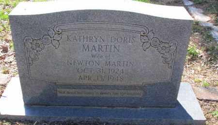 MARTIN, KATHRYN DORIS - Caddo County, Louisiana | KATHRYN DORIS MARTIN - Louisiana Gravestone Photos