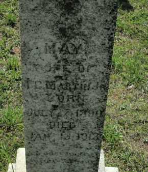 MARTIN, MAY - Caddo County, Louisiana | MAY MARTIN - Louisiana Gravestone Photos