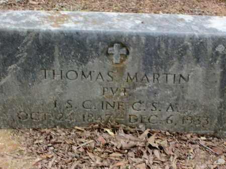 MARTIN, THOMAS (VETERAN CSA) - Caddo County, Louisiana   THOMAS (VETERAN CSA) MARTIN - Louisiana Gravestone Photos