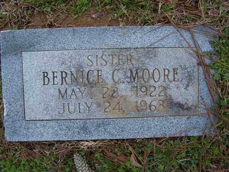 MOORE, BERNICE C - Caddo County, Louisiana   BERNICE C MOORE - Louisiana Gravestone Photos