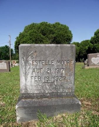MOORE, ESTELLE - Caddo County, Louisiana | ESTELLE MOORE - Louisiana Gravestone Photos