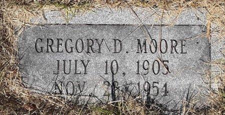 MOORE, GREGORY D - Caddo County, Louisiana | GREGORY D MOORE - Louisiana Gravestone Photos