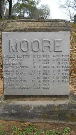 MOORE, OAKLEY H - Caddo County, Louisiana | OAKLEY H MOORE - Louisiana Gravestone Photos