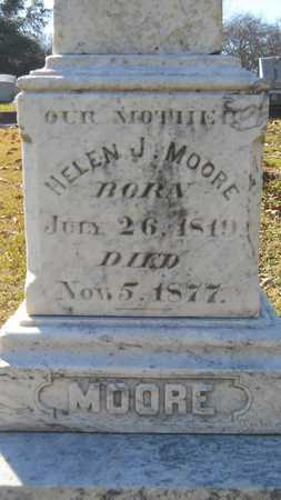 MOORE, HELEN J (CLOSE UP) - Caddo County, Louisiana | HELEN J (CLOSE UP) MOORE - Louisiana Gravestone Photos