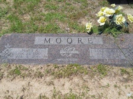 MOORE, LOIS - Caddo County, Louisiana | LOIS MOORE - Louisiana Gravestone Photos