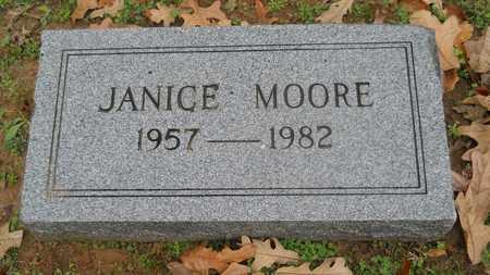 MOORE, JANICE - Caddo County, Louisiana | JANICE MOORE - Louisiana Gravestone Photos