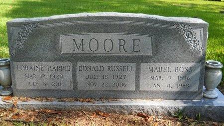 MOORE, MABEL - Caddo County, Louisiana | MABEL MOORE - Louisiana Gravestone Photos