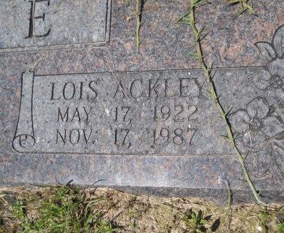 MOORE, LOIS (CLOSE UP) - Caddo County, Louisiana   LOIS (CLOSE UP) MOORE - Louisiana Gravestone Photos