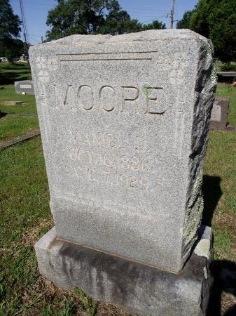 MOORE, MANIEL D - Caddo County, Louisiana | MANIEL D MOORE - Louisiana Gravestone Photos