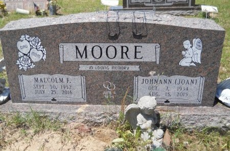 "MOORE, JOHNANN ""JOAN"" (OBIT) - Caddo County, Louisiana 