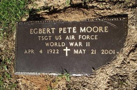 MOORE  , EGBERT PETE (VETERAN WWII) - Caddo County, Louisiana | EGBERT PETE (VETERAN WWII) MOORE   - Louisiana Gravestone Photos