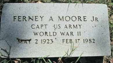 MOORE, FERNEY A, JR (VETERAN WWII) - Caddo County, Louisiana | FERNEY A, JR (VETERAN WWII) MOORE - Louisiana Gravestone Photos