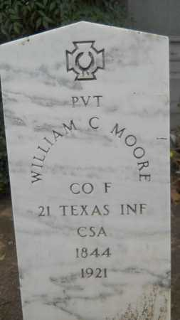 MOORE, WILLIAM C (VETERAN CSA) - Caddo County, Louisiana | WILLIAM C (VETERAN CSA) MOORE - Louisiana Gravestone Photos
