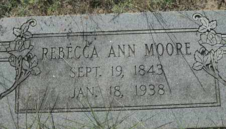 MOORE, REBECCA ANN - Caddo County, Louisiana | REBECCA ANN MOORE - Louisiana Gravestone Photos