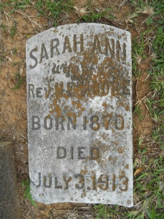 MOORE, SARAH ANN - Caddo County, Louisiana | SARAH ANN MOORE - Louisiana Gravestone Photos