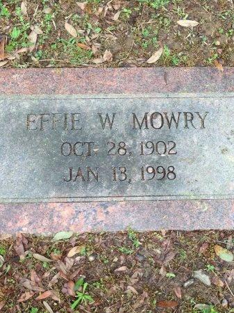 MOWRY, EFFIE - Caddo County, Louisiana | EFFIE MOWRY - Louisiana Gravestone Photos