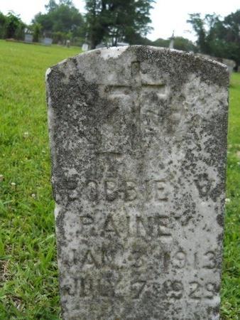 PAINE, BOBBIE V - Caddo County, Louisiana | BOBBIE V PAINE - Louisiana Gravestone Photos