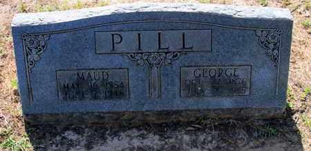 PILL, MAUD - Caddo County, Louisiana | MAUD PILL - Louisiana Gravestone Photos