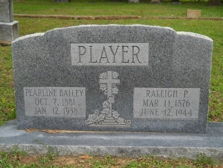 BAILEY PLAYER, PEARLINE - Caddo County, Louisiana | PEARLINE BAILEY PLAYER - Louisiana Gravestone Photos
