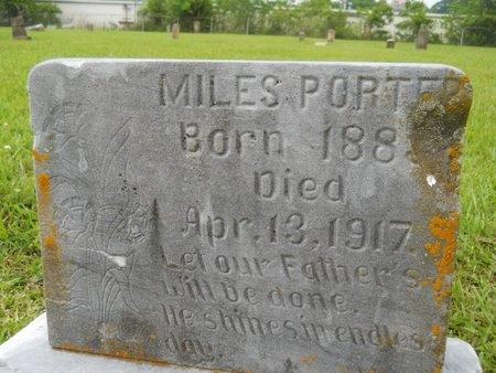 PORTER, MILES - Caddo County, Louisiana | MILES PORTER - Louisiana Gravestone Photos