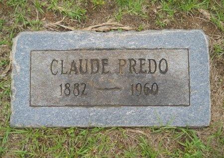 PREDO, CLAUDE - Caddo County, Louisiana | CLAUDE PREDO - Louisiana Gravestone Photos