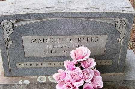 MARTIN REEKS, MADGIE DELPHA - Caddo County, Louisiana | MADGIE DELPHA MARTIN REEKS - Louisiana Gravestone Photos