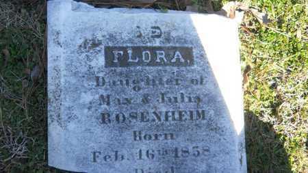 ROSENHEIM, FLORA - Caddo County, Louisiana | FLORA ROSENHEIM - Louisiana Gravestone Photos
