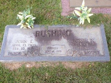 RUSHING, BESSIE N - Caddo County, Louisiana | BESSIE N RUSHING - Louisiana Gravestone Photos