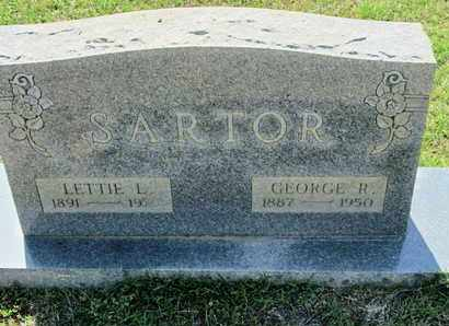 SARTOR, GEORGE R - Caddo County, Louisiana | GEORGE R SARTOR - Louisiana Gravestone Photos