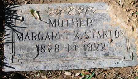 STANTON, MARGARET K - Caddo County, Louisiana | MARGARET K STANTON - Louisiana Gravestone Photos