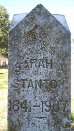 STANTON, SARAH - Caddo County, Louisiana | SARAH STANTON - Louisiana Gravestone Photos