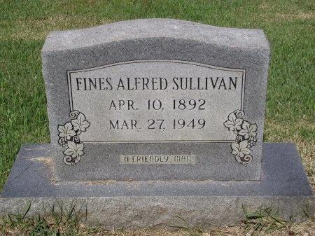 SULLIVAN, FINES ALFRED - Caddo County, Louisiana | FINES ALFRED SULLIVAN - Louisiana Gravestone Photos