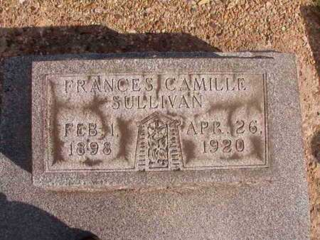 SULLIVAN, FRANCES CAMILLE - Caddo County, Louisiana | FRANCES CAMILLE SULLIVAN - Louisiana Gravestone Photos