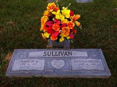 SULLIVAN, GRACIE CLAUDINE - Caddo County, Louisiana | GRACIE CLAUDINE SULLIVAN - Louisiana Gravestone Photos