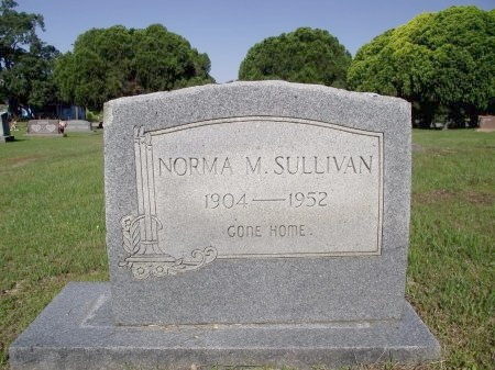 SULLIVAN, NORMA M - Caddo County, Louisiana | NORMA M SULLIVAN - Louisiana Gravestone Photos