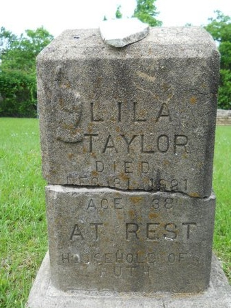 TAYLOR, LILA - Caddo County, Louisiana | LILA TAYLOR - Louisiana Gravestone Photos