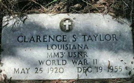 TAYLOR, CLARENCE S (VETERAN WWII) - Caddo County, Louisiana | CLARENCE S (VETERAN WWII) TAYLOR - Louisiana Gravestone Photos