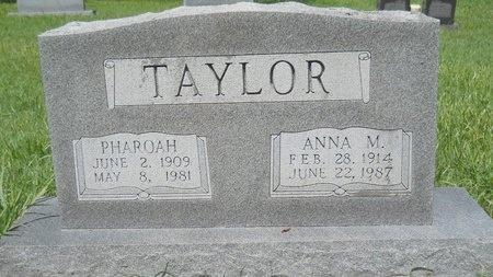 TAYLOR, ANNA M - Caddo County, Louisiana | ANNA M TAYLOR - Louisiana Gravestone Photos