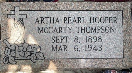 THOMPSON, ARTHA PEARL - Caddo County, Louisiana | ARTHA PEARL THOMPSON - Louisiana Gravestone Photos