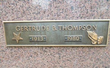 THOMPSON, GERTRUDE B - Caddo County, Louisiana | GERTRUDE B THOMPSON - Louisiana Gravestone Photos