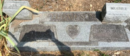 THOMPSON, MAUDE B - Caddo County, Louisiana | MAUDE B THOMPSON - Louisiana Gravestone Photos