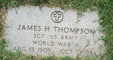 THOMPSON, JAMES H (VETERAN WWII) - Caddo County, Louisiana | JAMES H (VETERAN WWII) THOMPSON - Louisiana Gravestone Photos