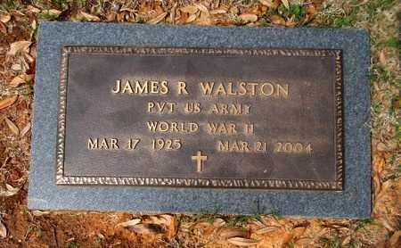 WALSTON, JAMES R (VETERAN WWII) - Caddo County, Louisiana | JAMES R (VETERAN WWII) WALSTON - Louisiana Gravestone Photos