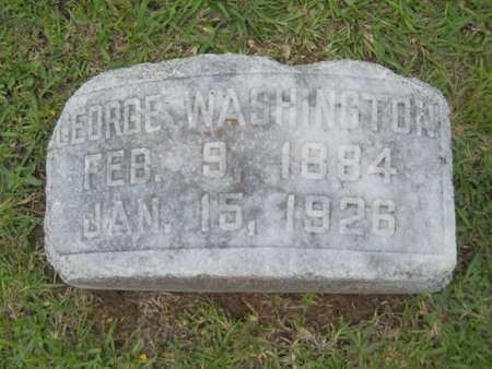 WASHINGTON, GEORGE - Caddo County, Louisiana | GEORGE WASHINGTON - Louisiana Gravestone Photos