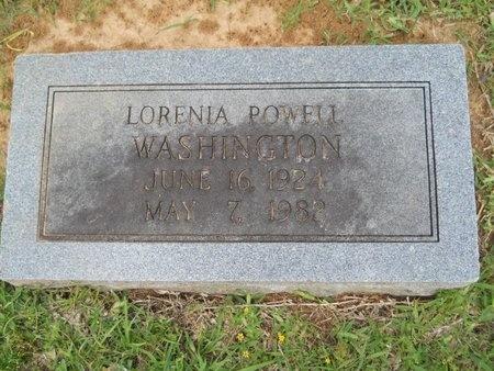 WASHINGTON, LORENIA - Caddo County, Louisiana | LORENIA WASHINGTON - Louisiana Gravestone Photos