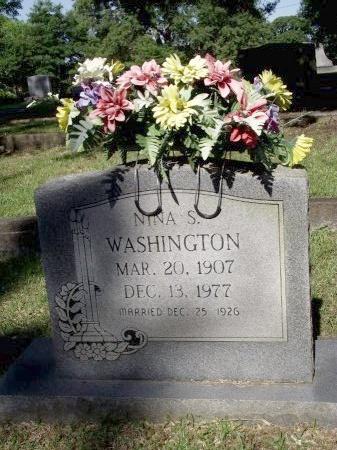 WASHINGTON, NINA - Caddo County, Louisiana | NINA WASHINGTON - Louisiana Gravestone Photos