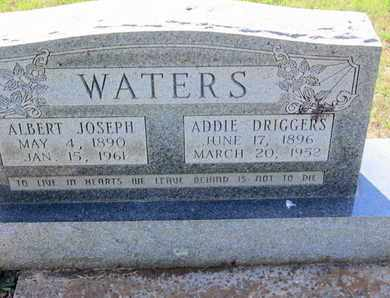 WATERS, ADDIE - Caddo County, Louisiana | ADDIE WATERS - Louisiana Gravestone Photos